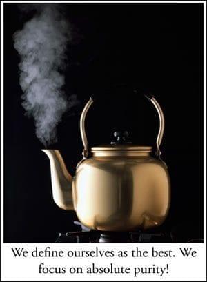 Tea Kettle Steam
