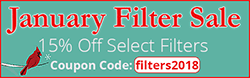 Select Filters 15% Off January