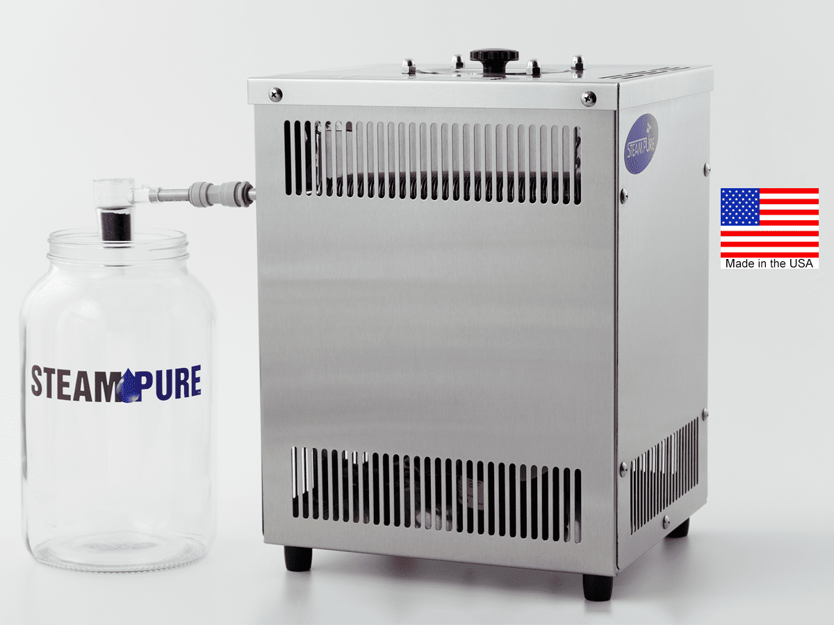 Water Distillers Made In Usa ~ Steampure steam water distiller my pure
