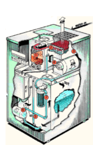 water distiller diagram