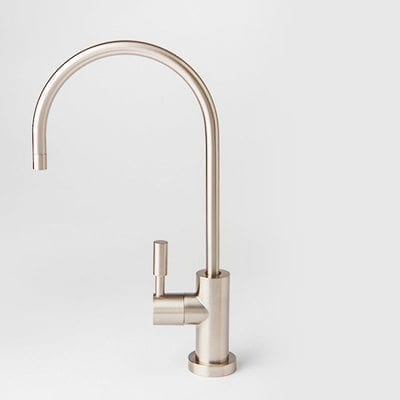 Elegant Brushed Nickel Faucet