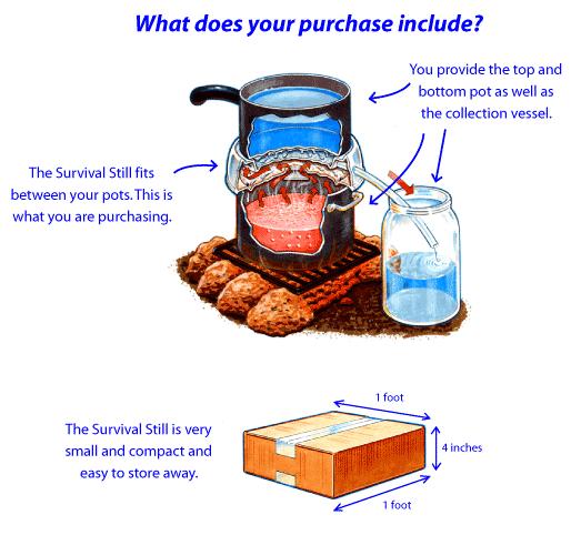 emergency distiller diagram