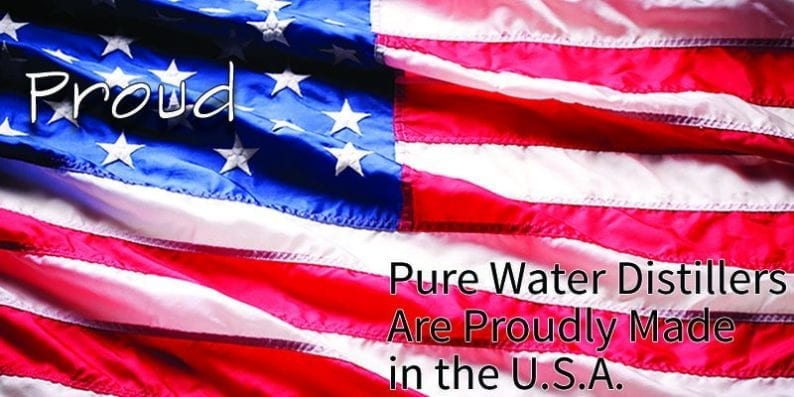 American Made Water Distillers
