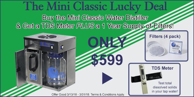 Mini Classic Water Distiller Sale!