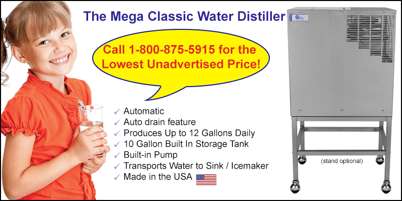 Memorial Day Sale on the Mega Classic Home Water Distiller