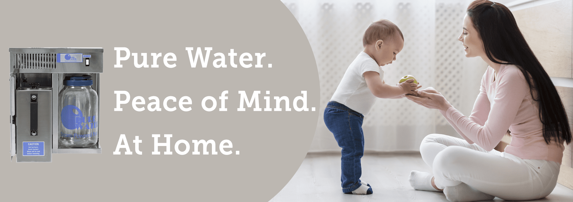 Pure Water Distillers at Home