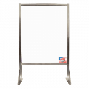 Secure Sani-Shield Plexiglass Divider