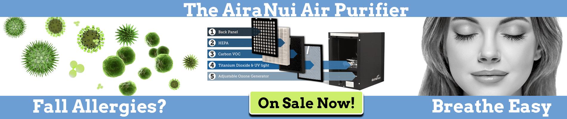 AiraNui Indoor Air Purifier Sale
