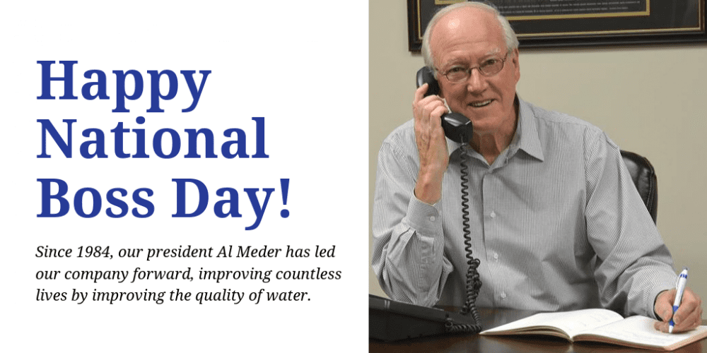 Happy National Boss Day Al Meder