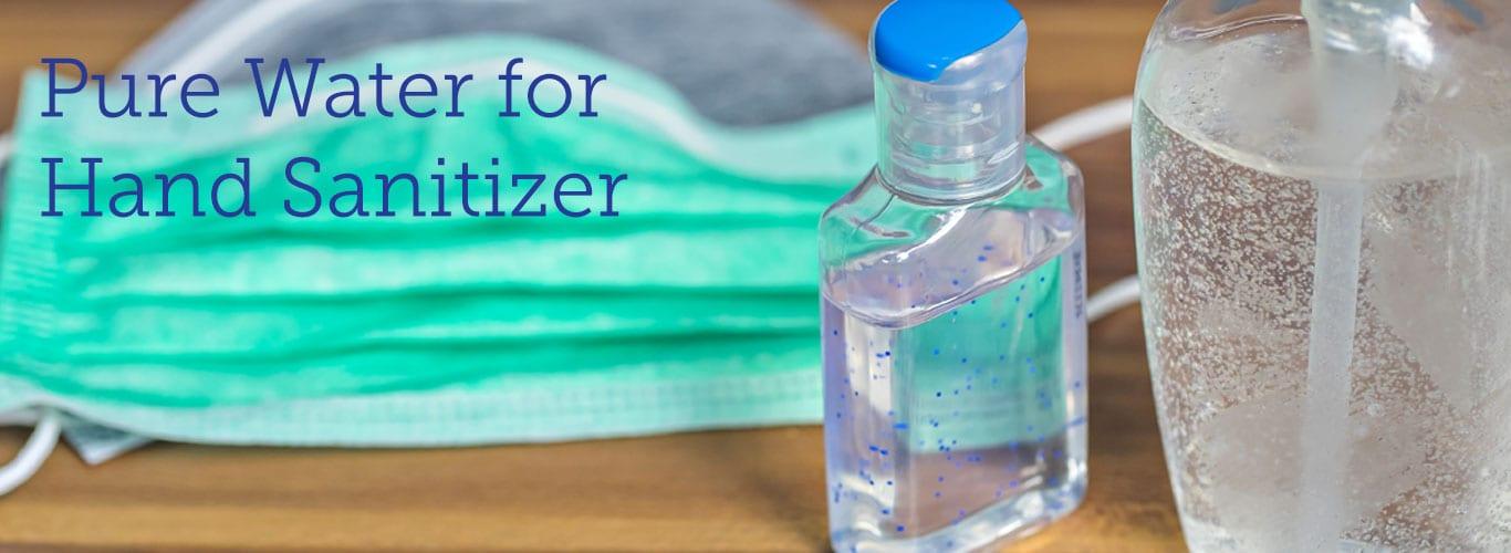 Distilled Water for Hand Sanitizer