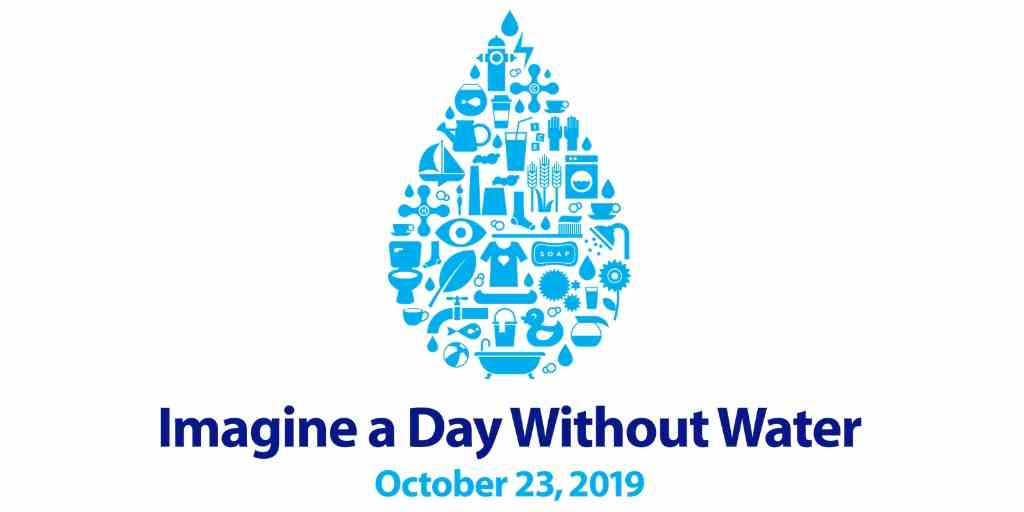 Imagine A Day Without Water 2019 [Infographic]