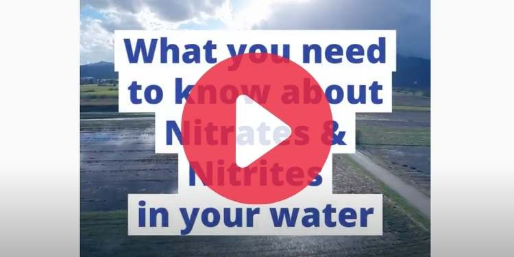 Video about Nitrates and Nitrites in drinking water