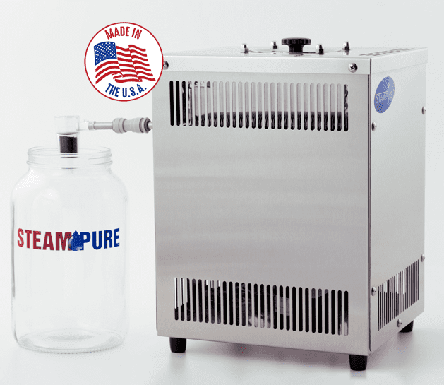 steam pure home water distiller