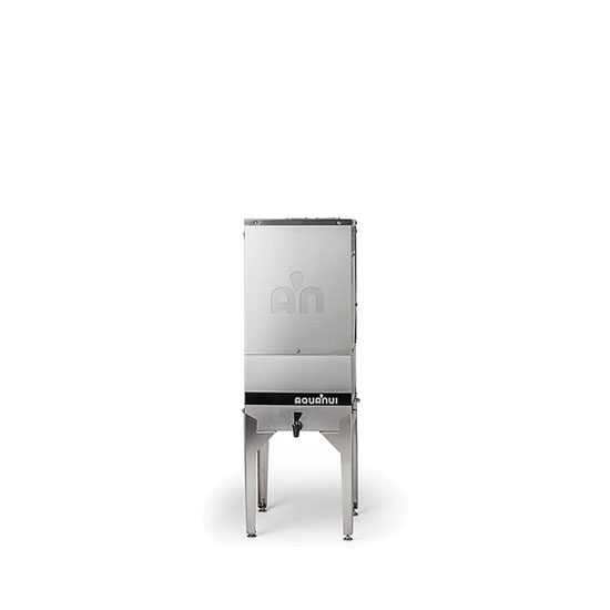 AquaNui 8 gallon automatic water distiller with a 5 gallon storage tank