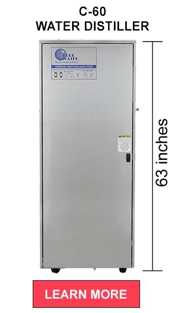c-60 commercial water distiller