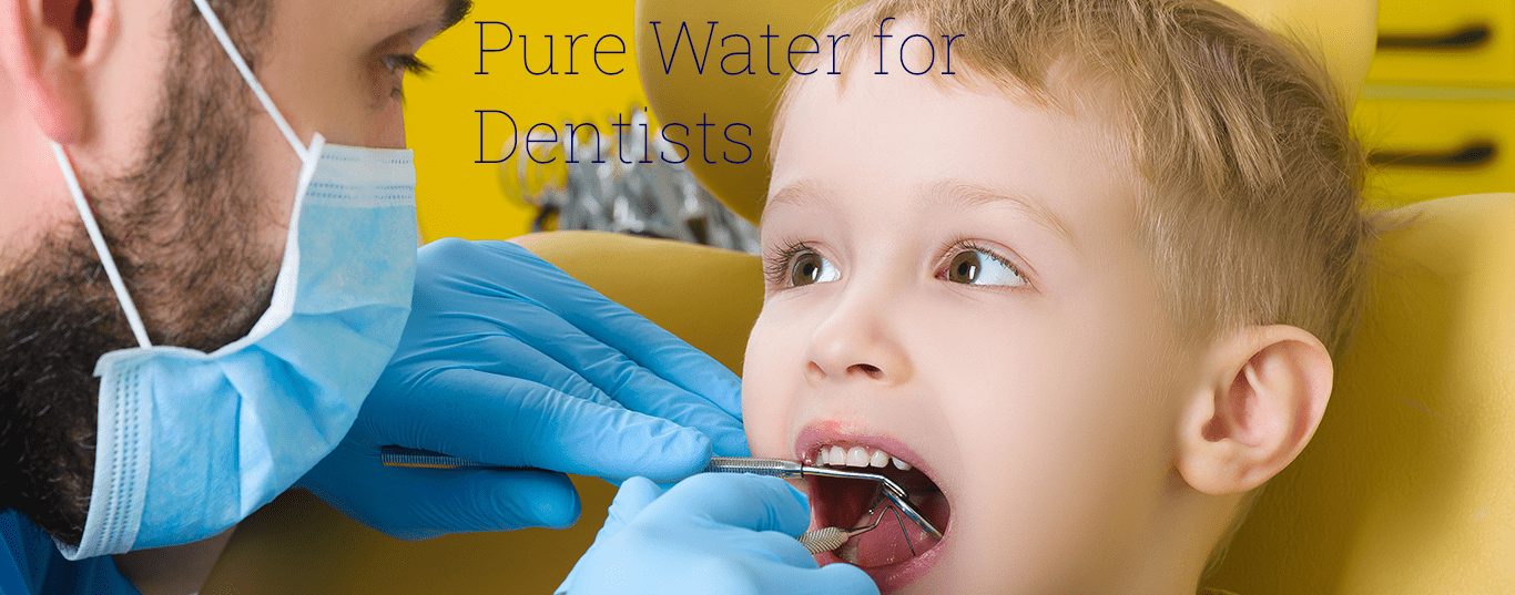 pure distilled water for dentists