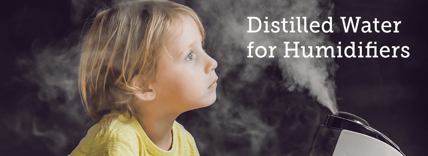 distilled water for humidifiers