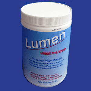lumen water distiller cleaner